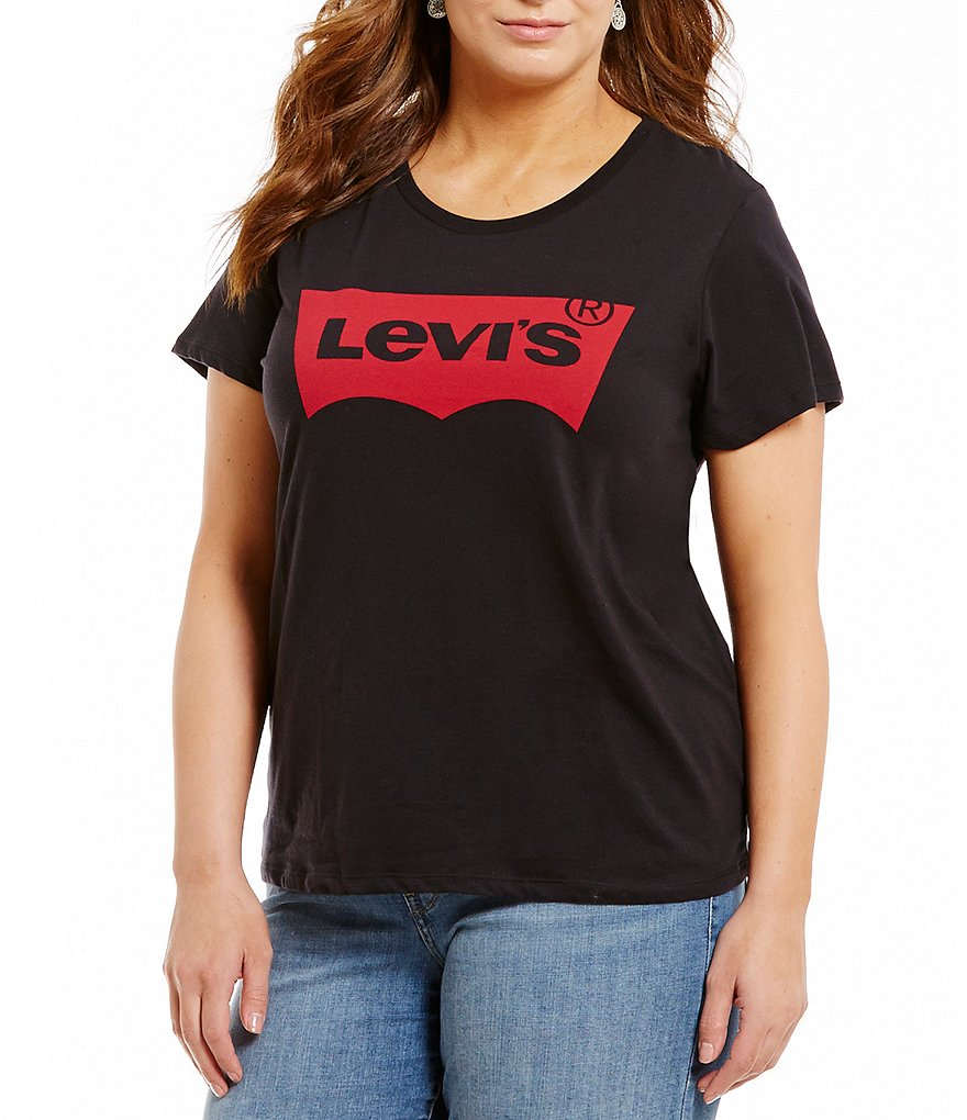 Levi's® Plus Perfect Short Sleeve Cotton Tee