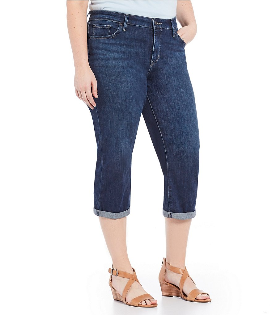Levi's Plus Shaping Capri