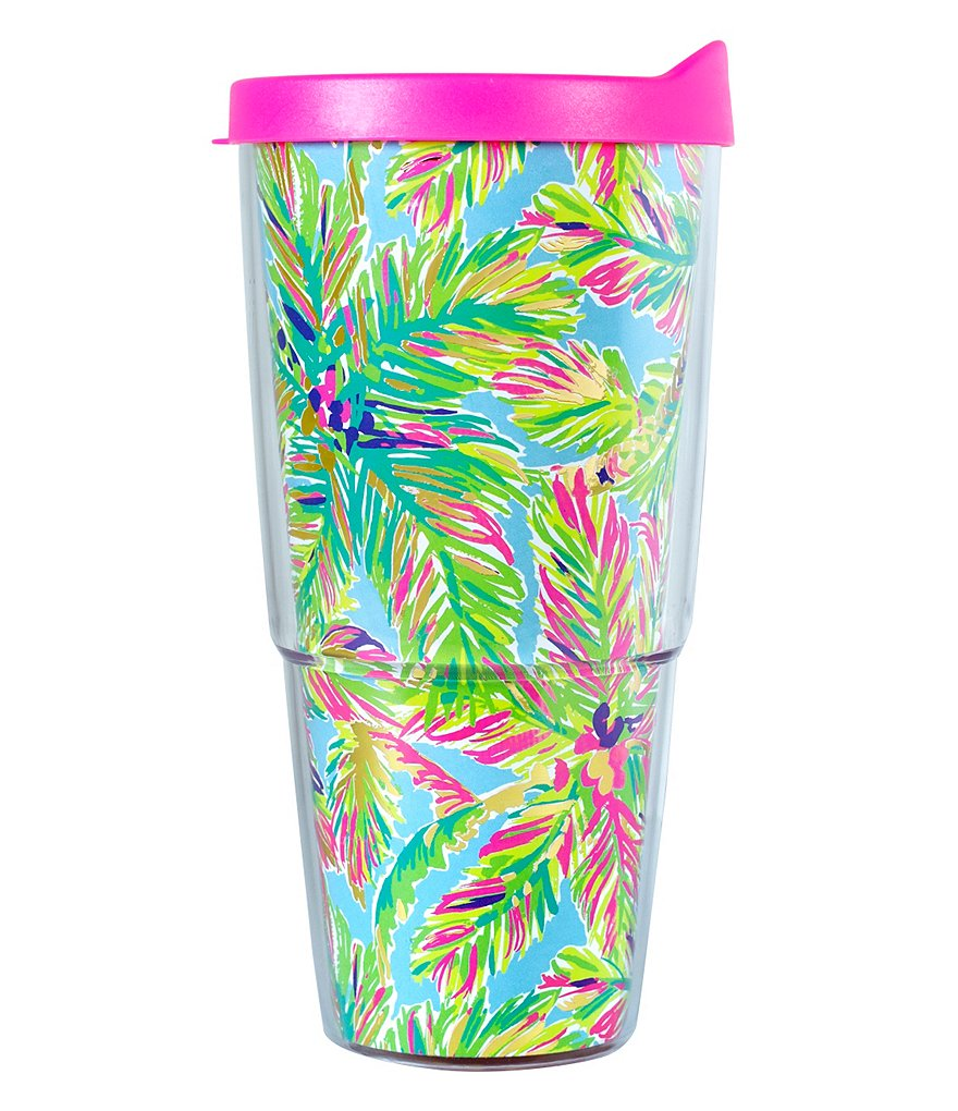 Lilly Pulitzer Island Time Insulated Tumbler with Lid
