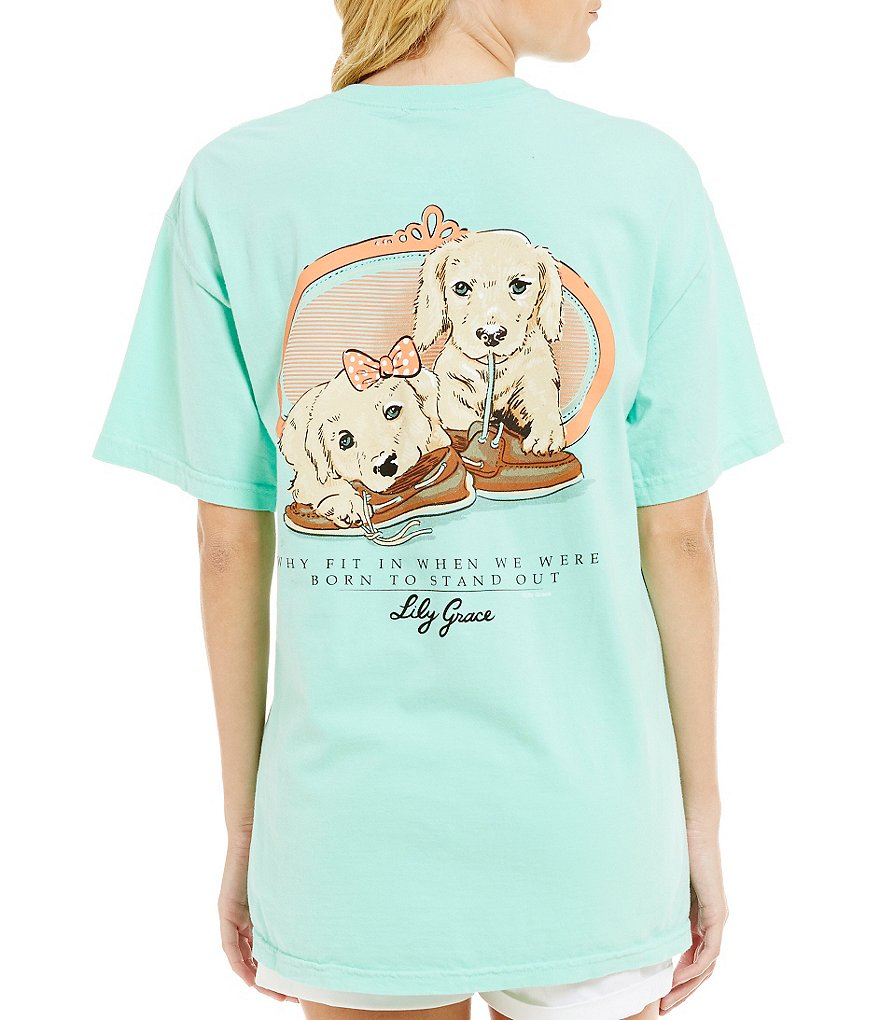 Lily Grace Born To Stand Out Short-Sleeve Graphic Tee