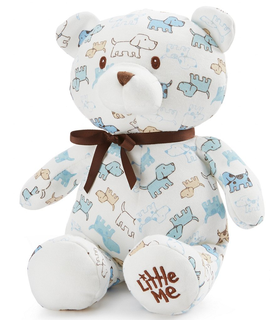 Little Me Baby Boys Cute Puppies 10#double; Plush Teddy Bear