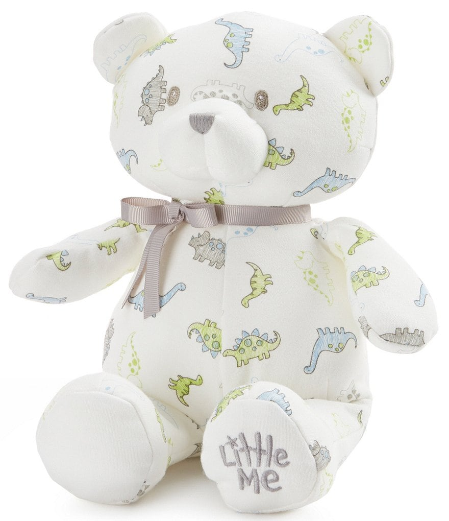 Little Me Baby Boys Tiny Dinosuar 10#double; Plush Teddy Bear