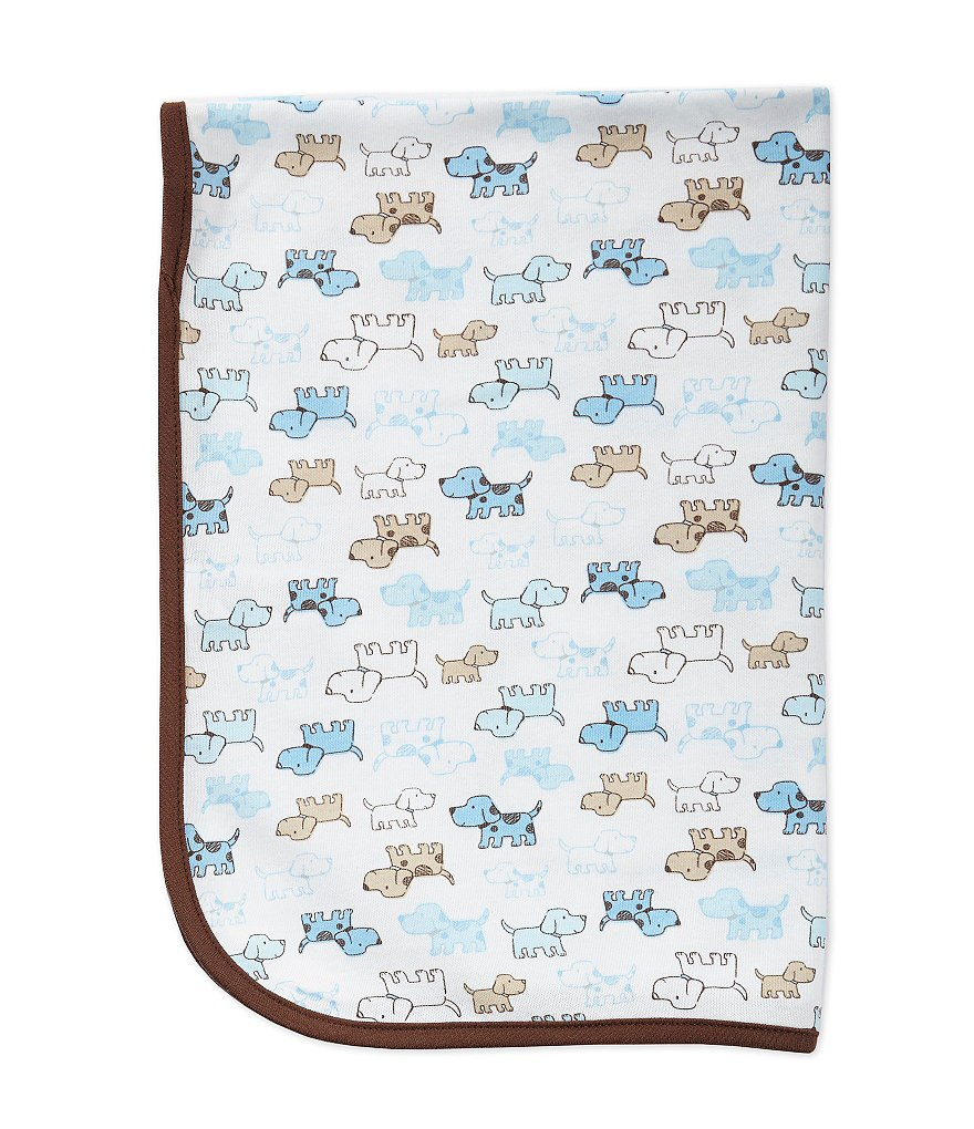 Little Me Cute Puppies Blanket