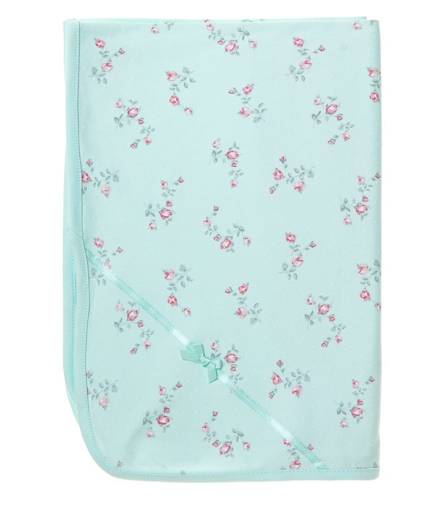 Little Me Baby Girls Floral Spray Blanket