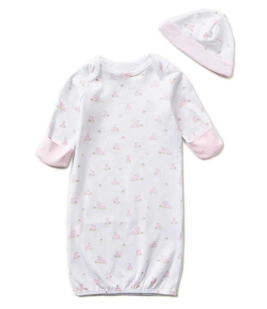 Little Me Baby Girls Newborn Baby Bunnies Gown