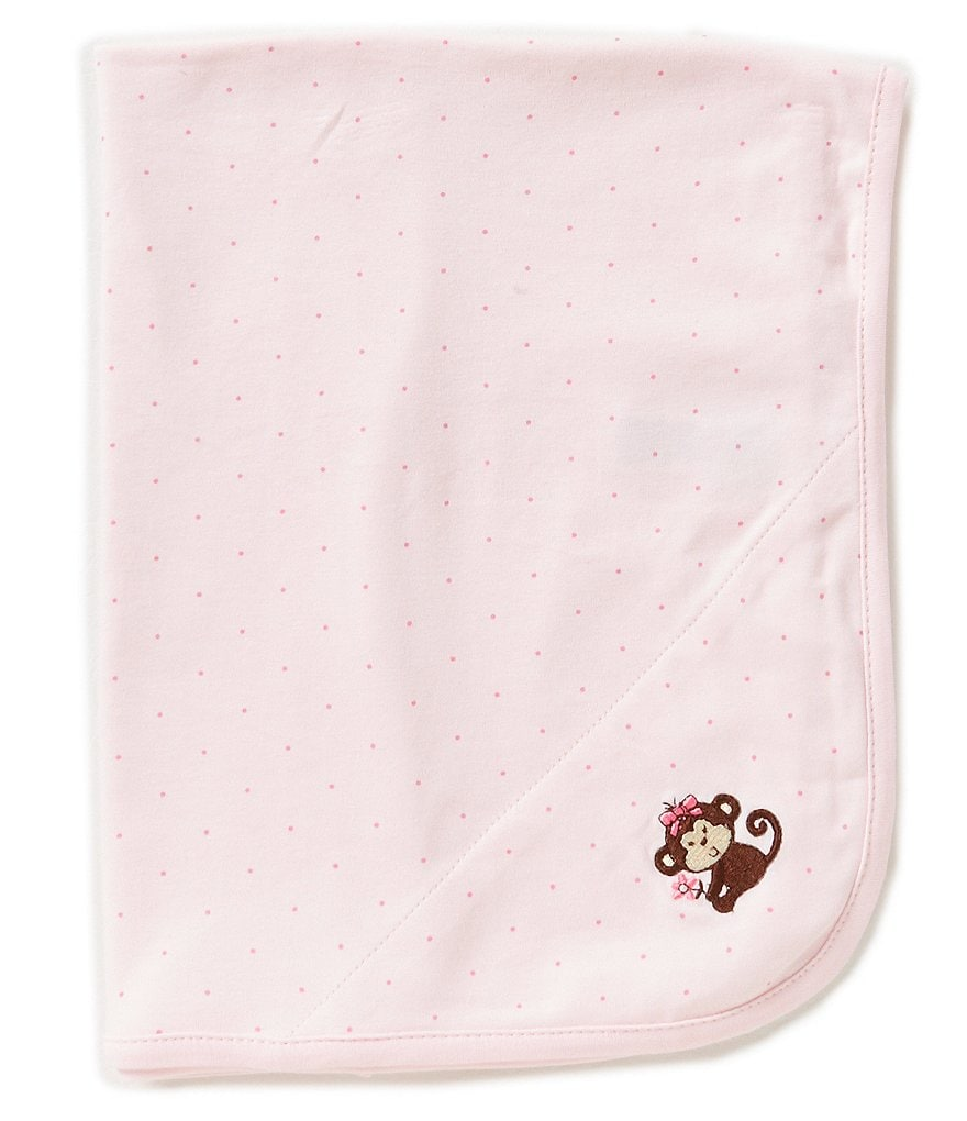 Little Me Pretty Monkey Blanket