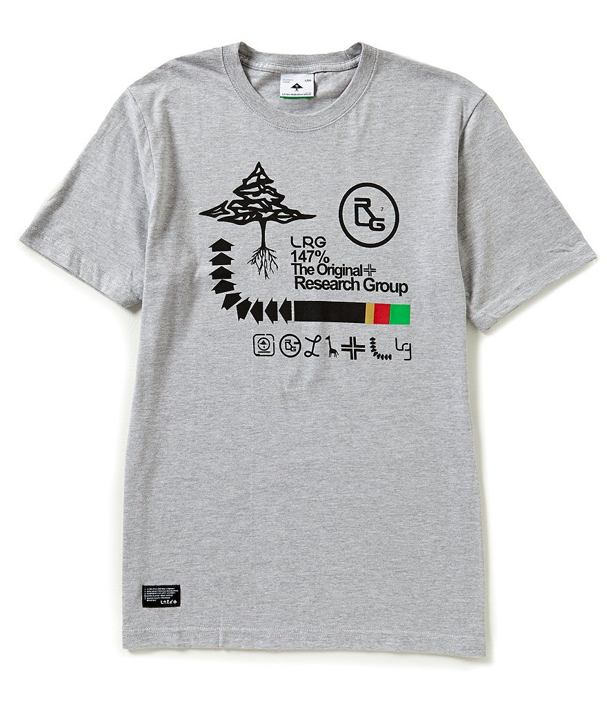 LRG Archive Tree Short-Sleeve Jersey Graphic Tee