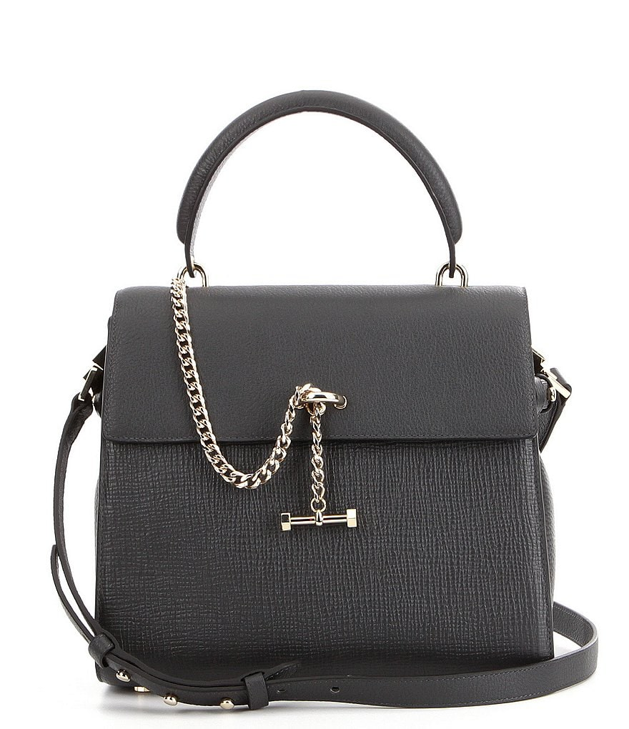 Luana Italy Paley Chained Top-Handle Medium Satchel