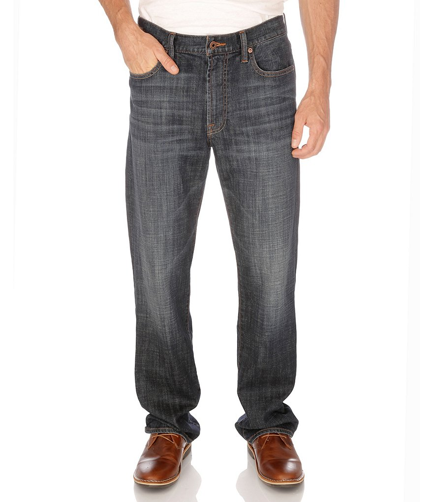 Lucky Brand 181 Relaxed-Straight Jeans