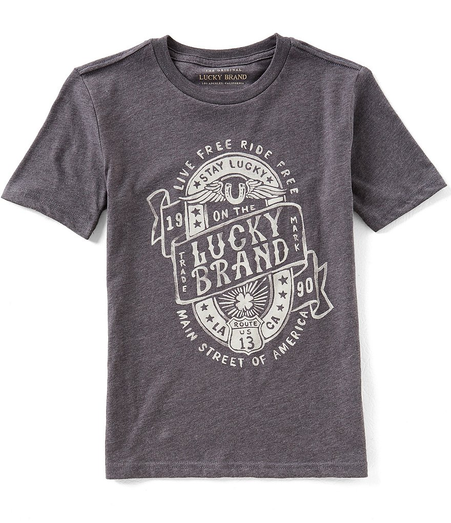 Lucky Brand Big Boys 8-20 Short-Sleeve Graphic Tee