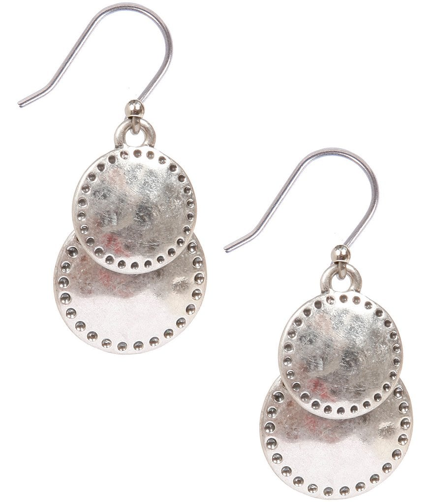 Lucky Brand Double Drop Earrings