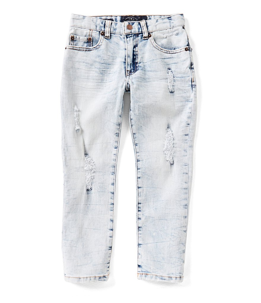 Lucky Brand Little Boys 4-7 Bleached Denim Jeans