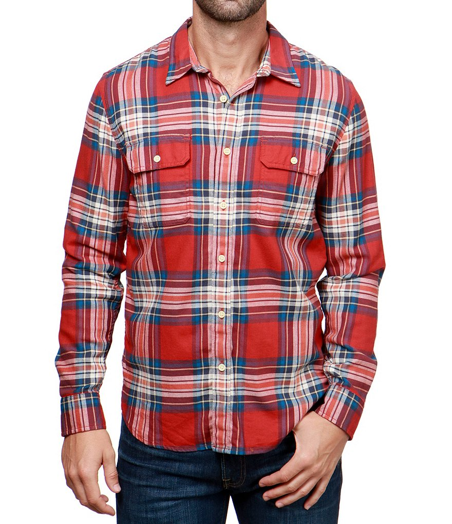Lucky Brand Miter Work Wear Long-Sleeve Shirt