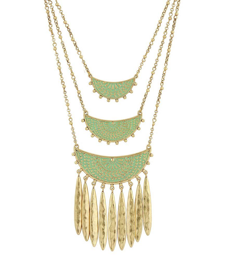 Lucky Brand Petina Statement Necklace
