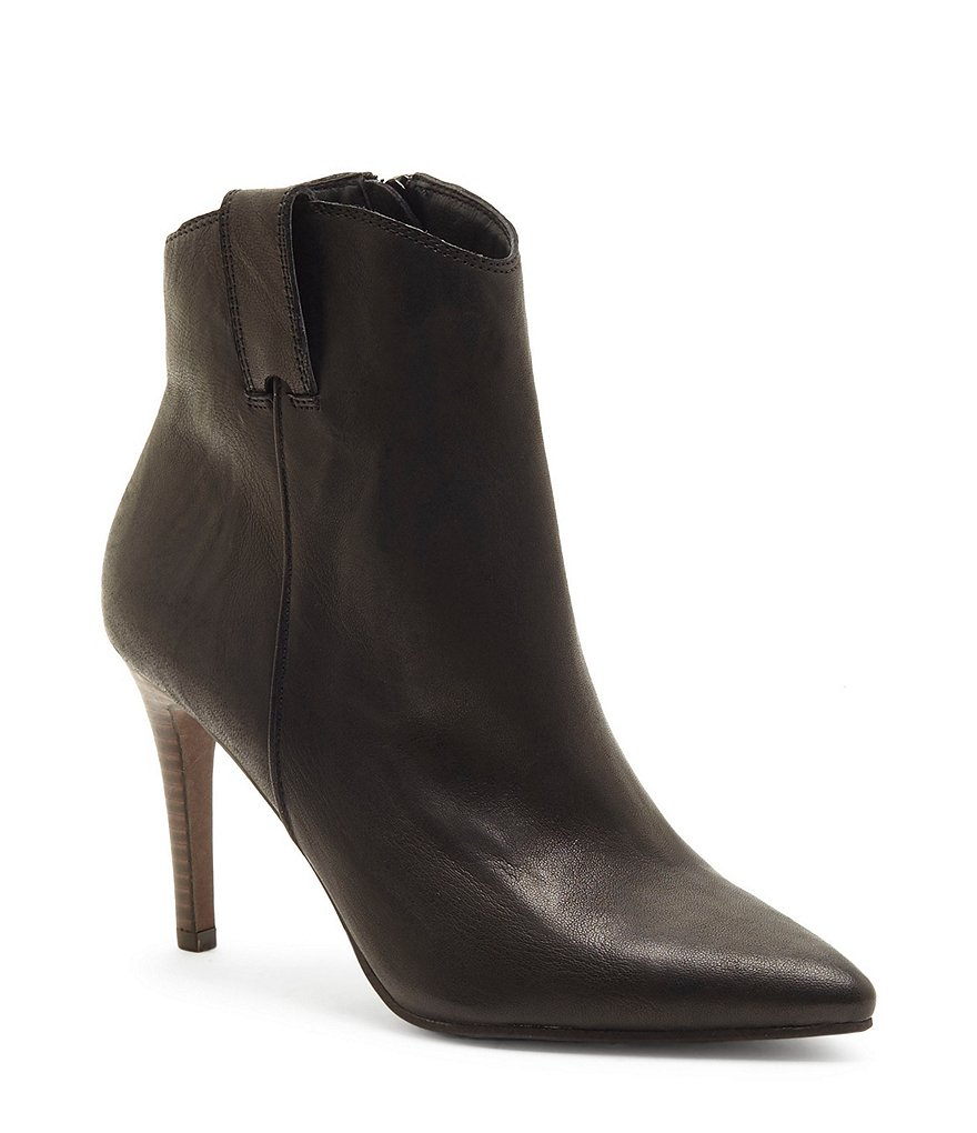 Lucky Brand Torince Leather Booties