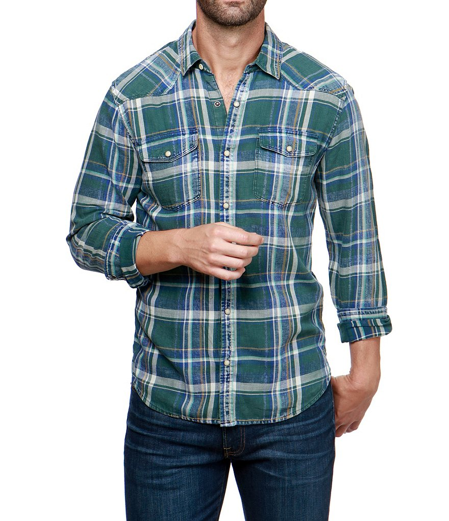 Lucky Brand Western Indigo Long-Sleeve Shirt