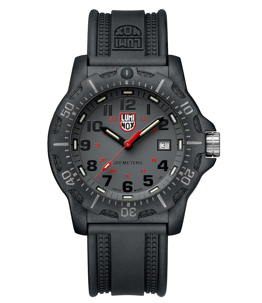 Luminox Black Ops Analog & Date Watch