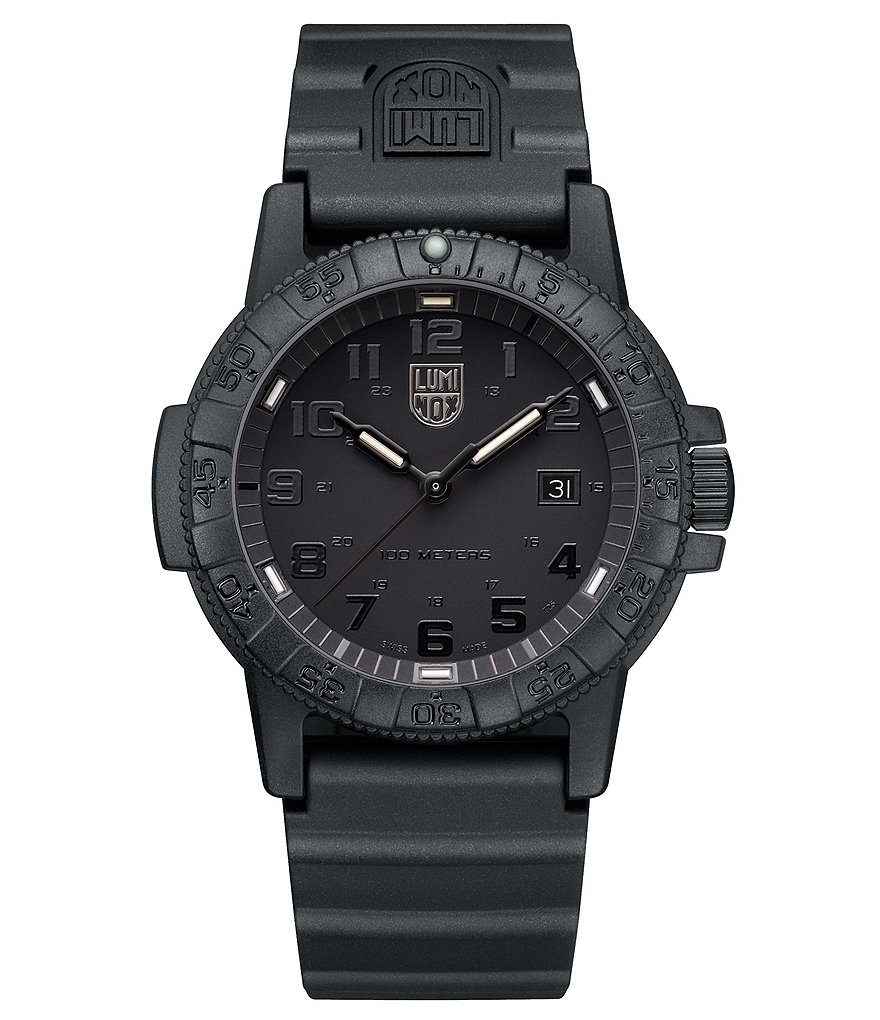 Luminox Sea Turtle All Black Analog & Date Watch