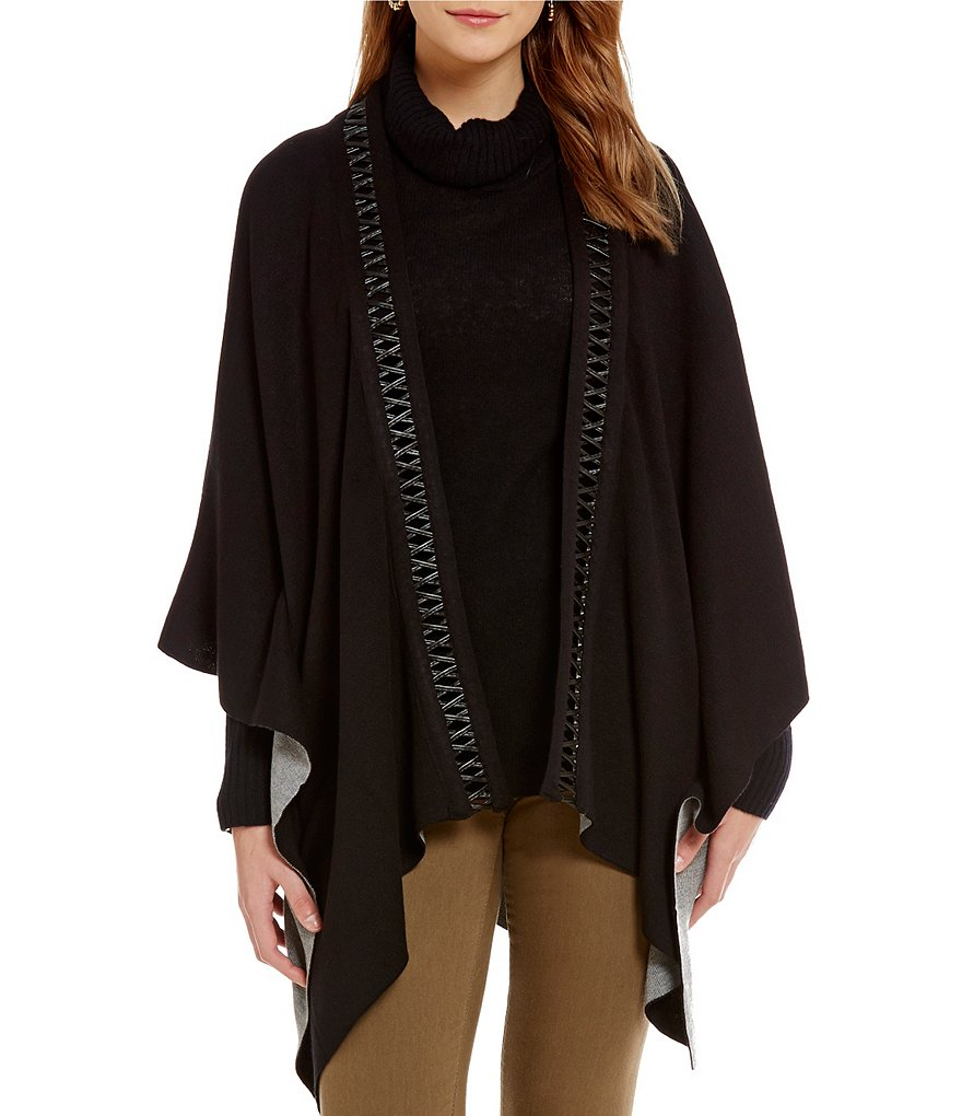 Lysse Dakota Reversible Poncho