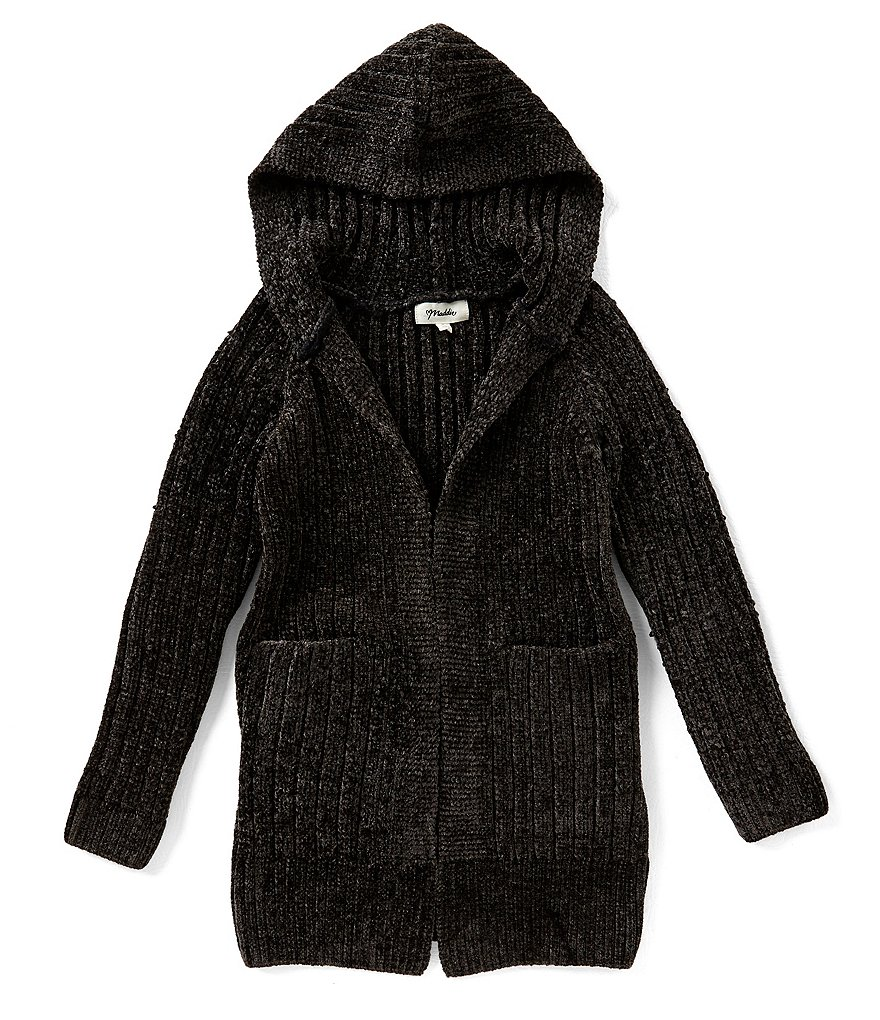 Maddie Big Girls 7-16 Hooded Cardigan Sweater | Dillards