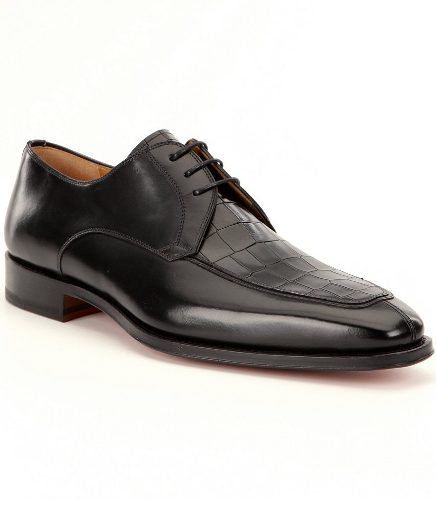 Magnanni Men´s Rufino Leather Moc-Toe Dress Oxfords