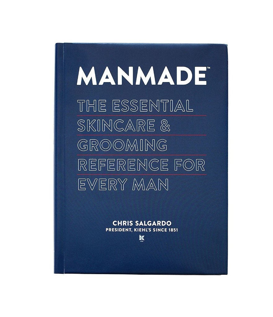 Manmade: The Essential Skincare & Grooming Reference for Every Man by Chris Salgardo