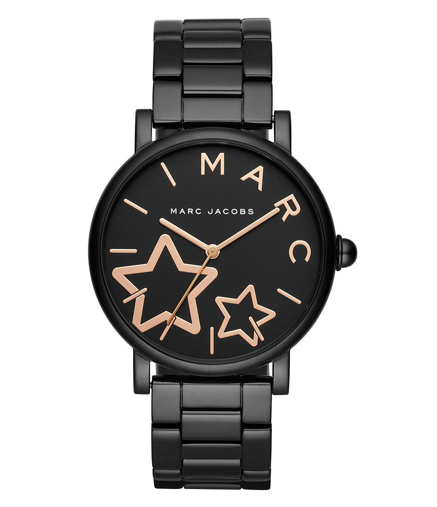 Marc Jacobs Classic Black IP Watch