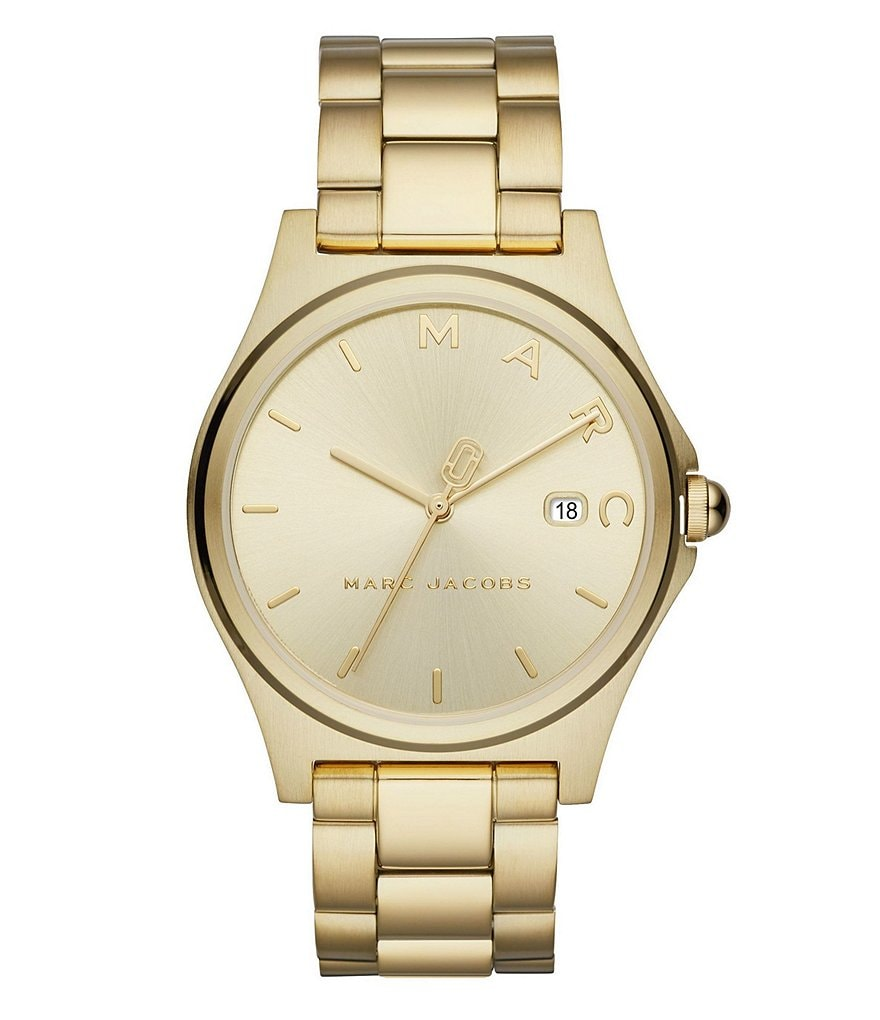 Marc Jacobs Henry Gold-Tone Watch