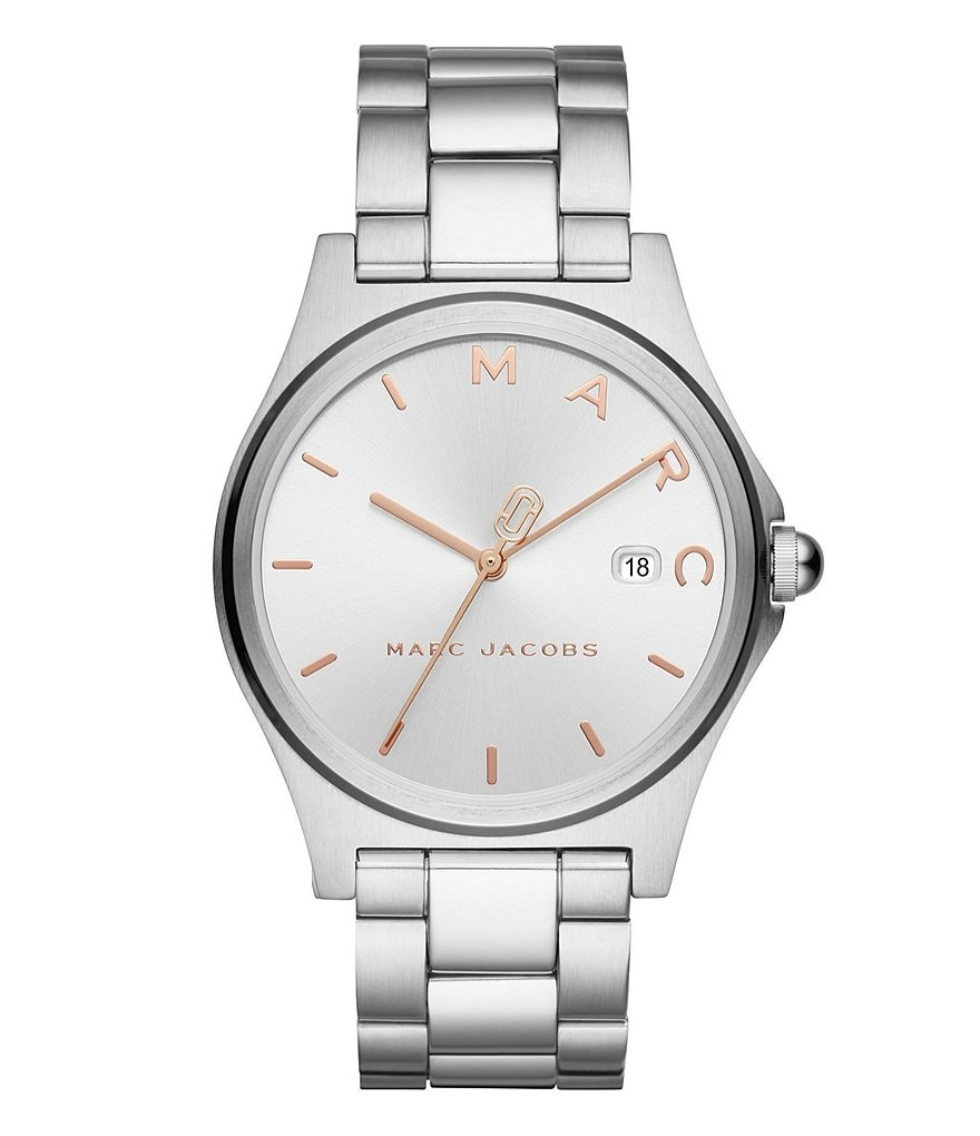 Marc Jacobs Henry Stainless-Steel Watch