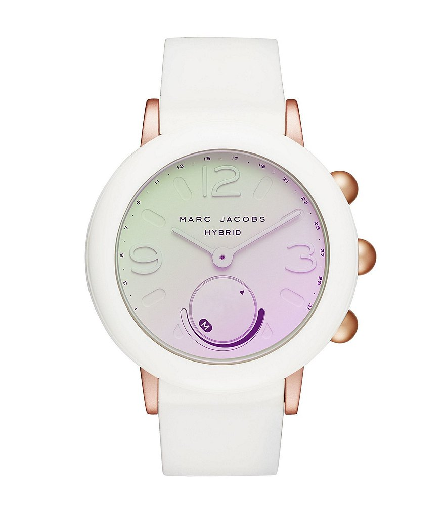 Marc Jacobs Riley Rubber Hybrid SmartWatch