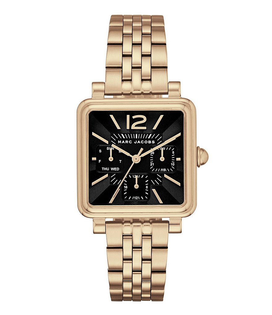 Marc Jacobs Vic Square Multifunction Watch