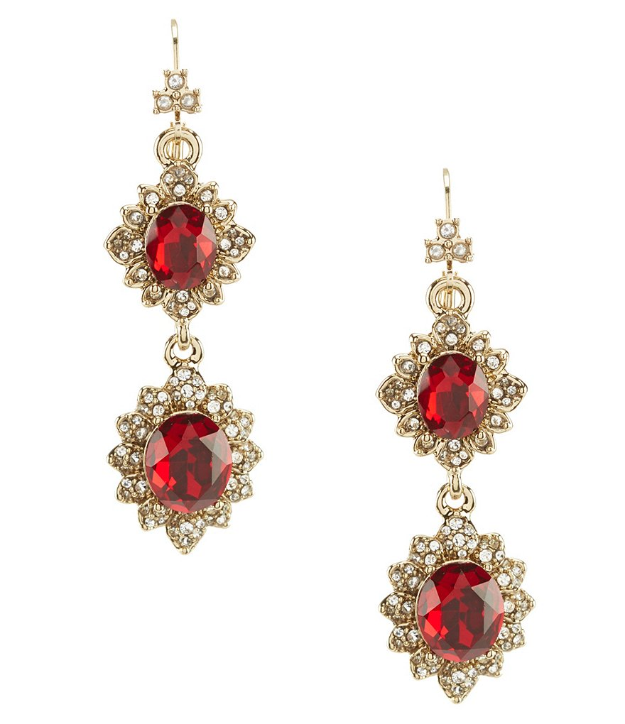 Marchesa Soiree Drop Statement Earrings