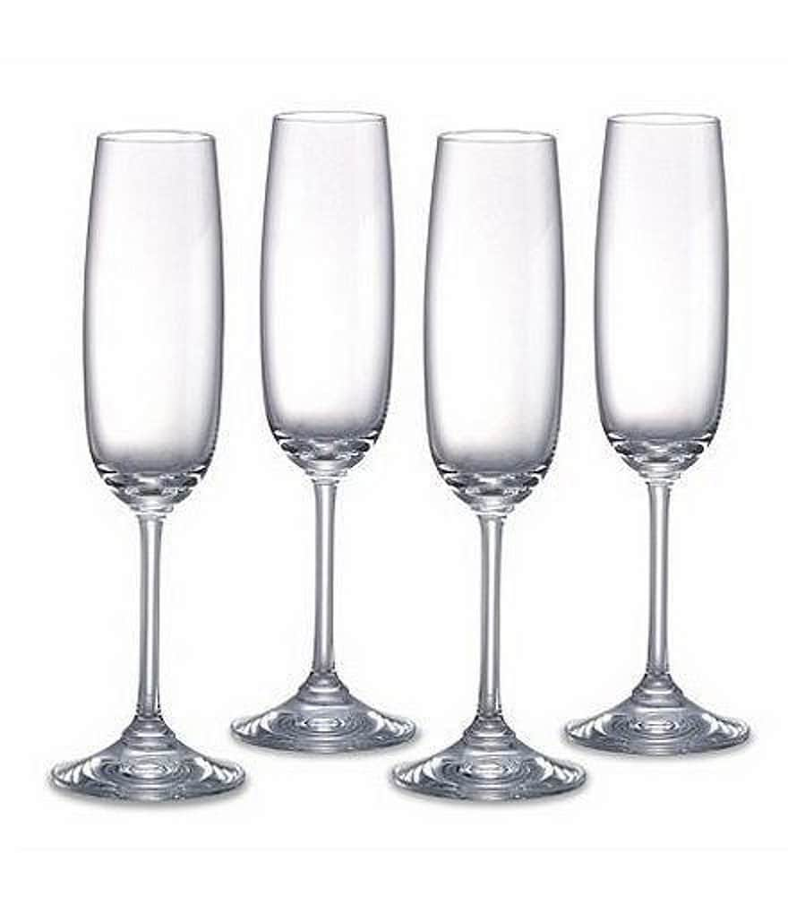marquis by waterford vintage tasting collection crystal champagne flutes set of 4 - Crystal Champagne Flutes