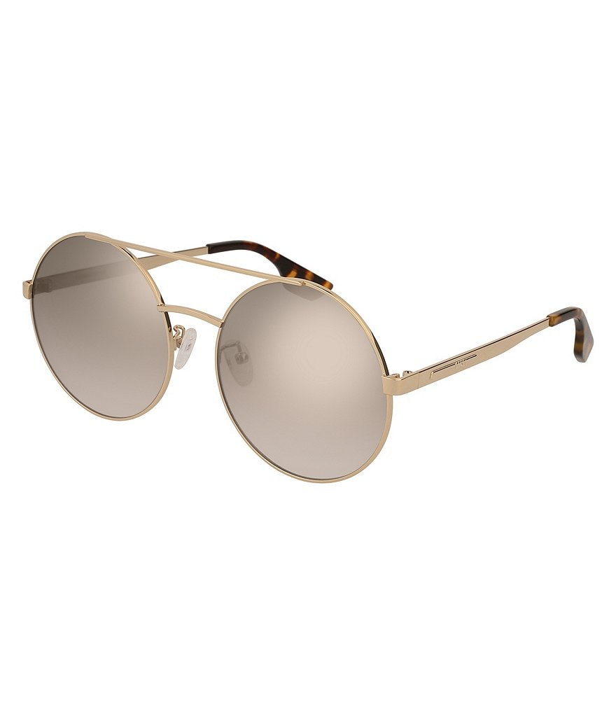 McQ Women's Rounded Over-Sized Sunglasses
