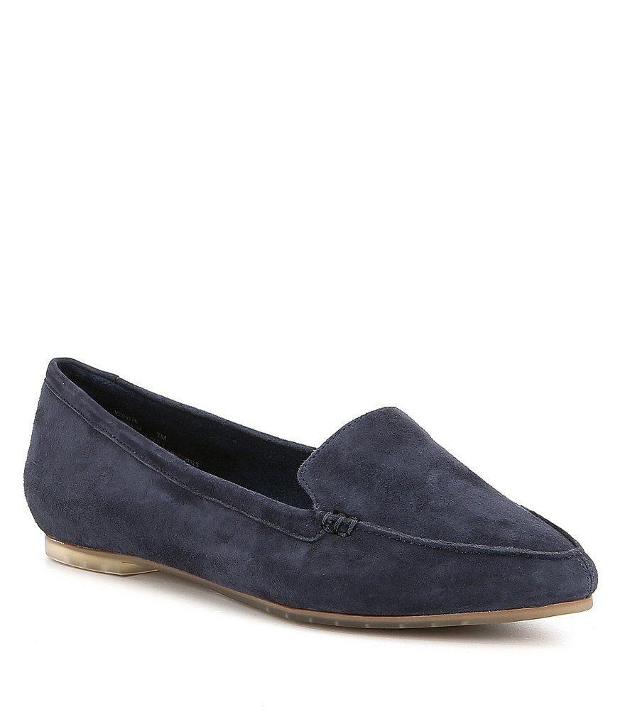 Me Too Audra Suede Slip-On Mocs