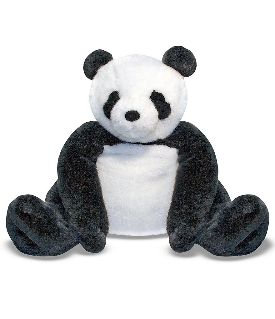 Melissa & Doug 2' Panda Bear Giant Stuffed Animal