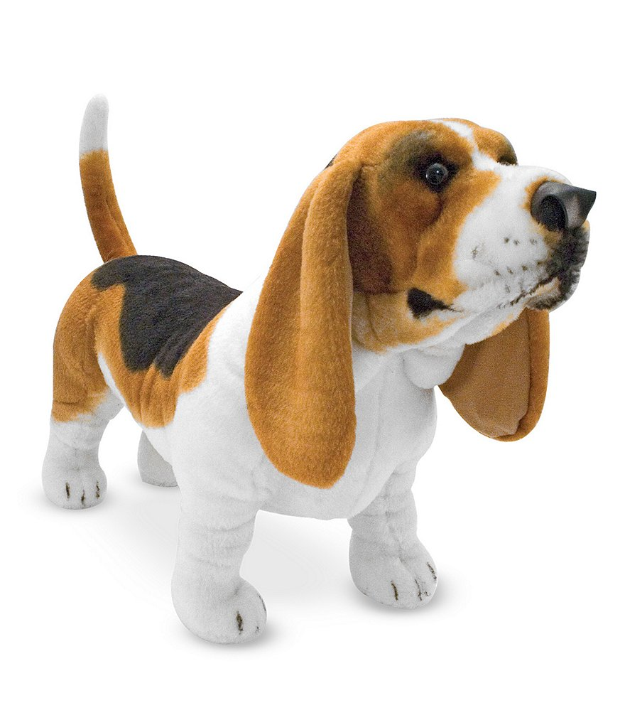 Melissa & Doug Basset Hound Dog Giant Stuffed Animal