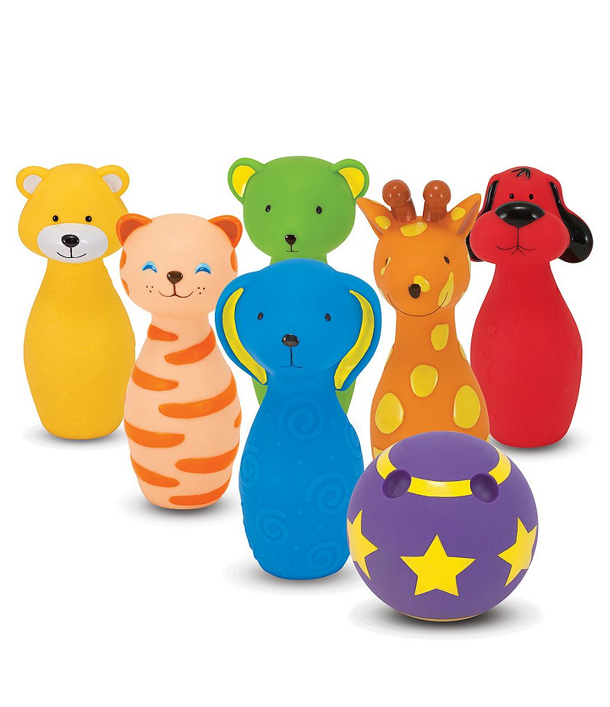 Melissa & Doug Bowling Friends Preschool Playset