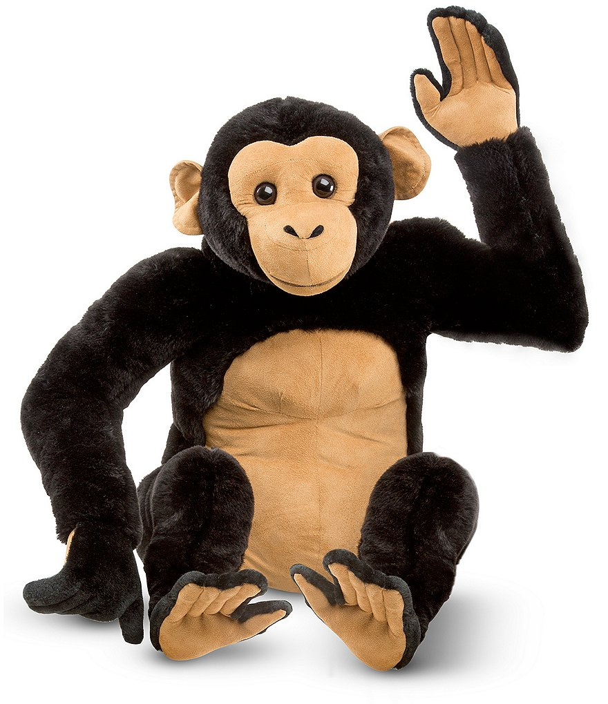 Melissa & Doug 19#double; Chimpanzee Giant Stuffed Animal