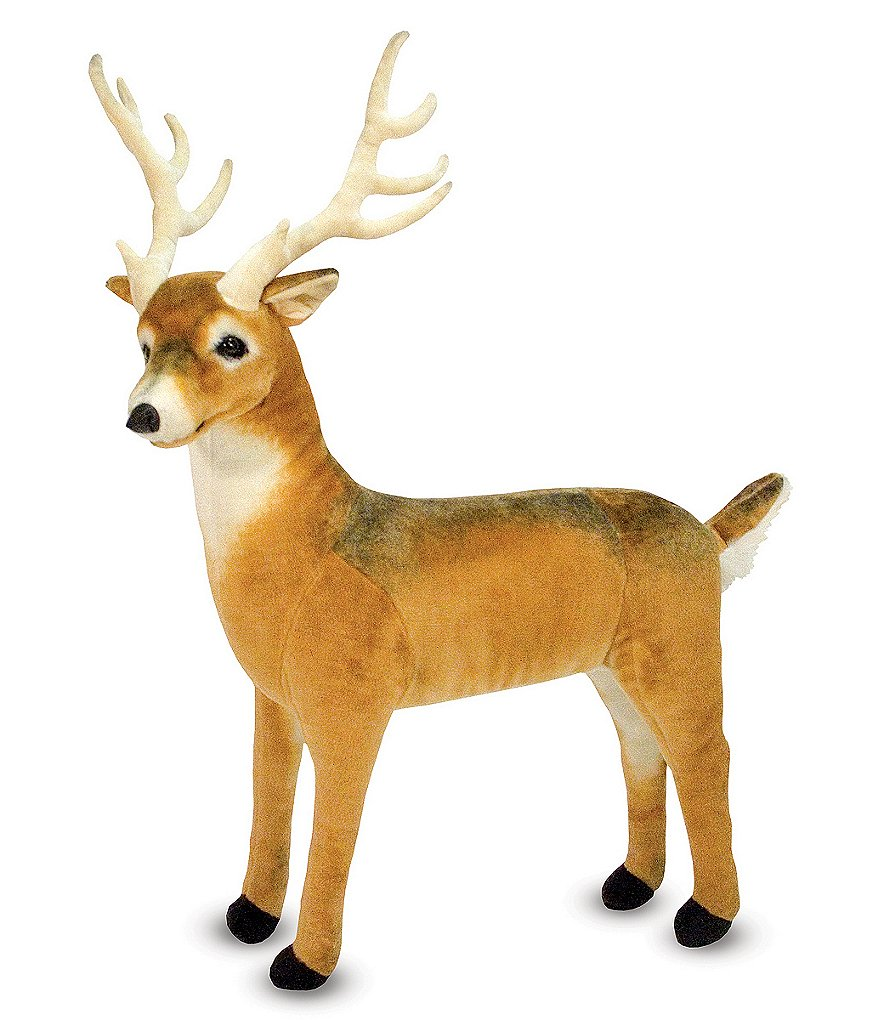Melissa & Doug 37#double; Deer Giant Stuffed Animal
