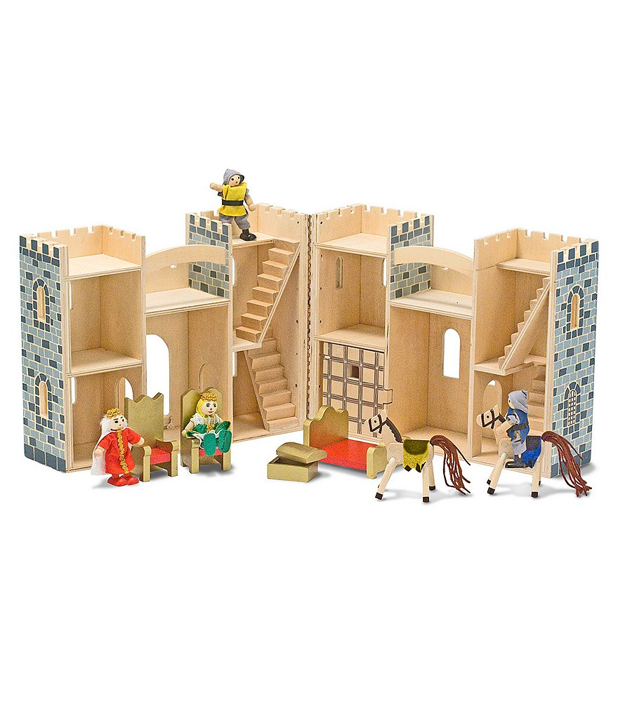 Melissa & Doug Fold & Go Castle Play Set