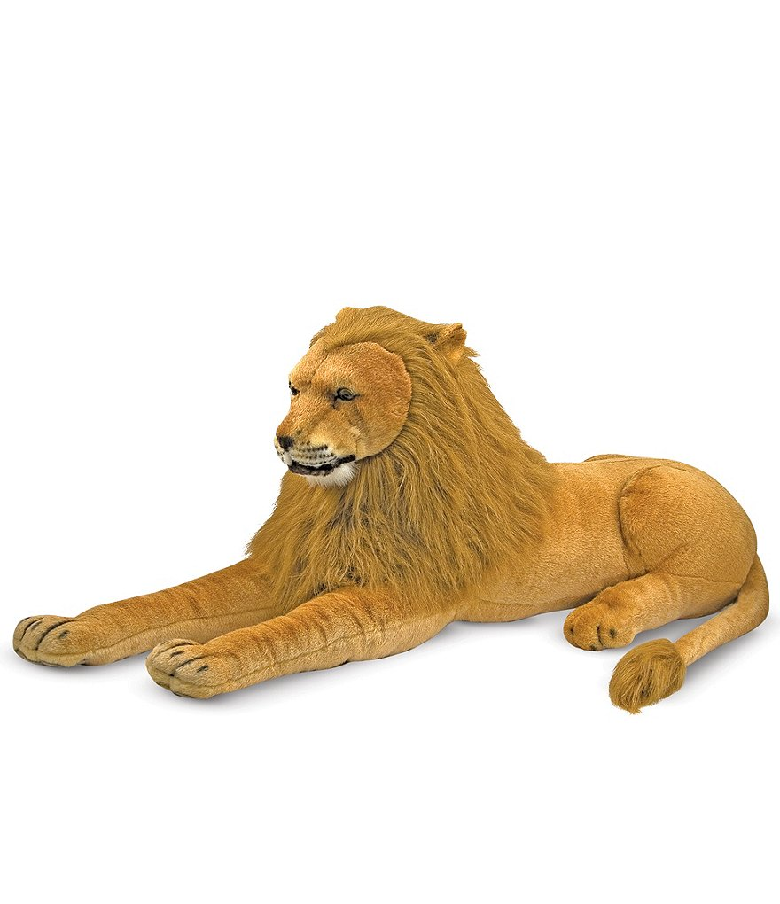 Melissa & Doug 22#double; Lion Giant Stuffed Animal