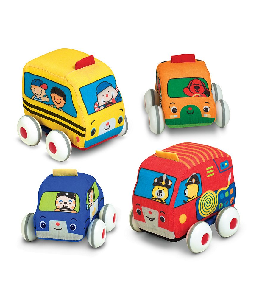 Melissa & Doug Baby and Toddler Pull-Back Vehicles