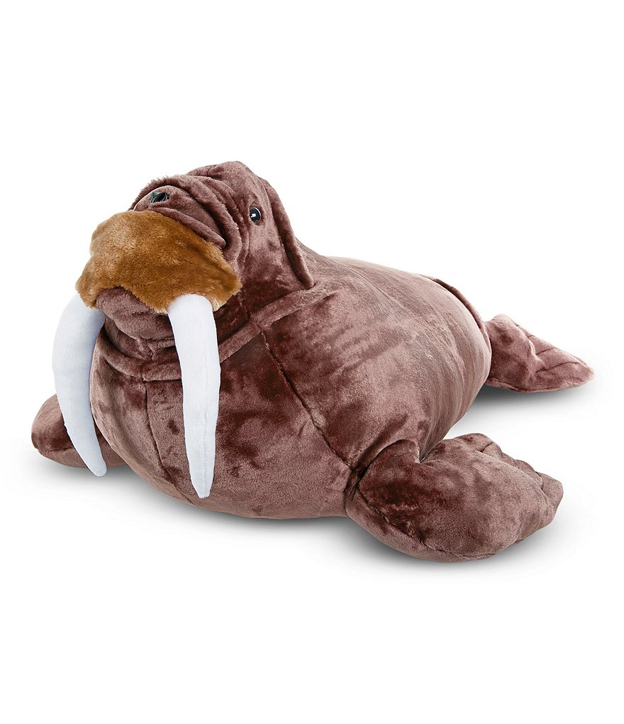 Melissa & Doug Walrus Lifelike Stuffed Animal