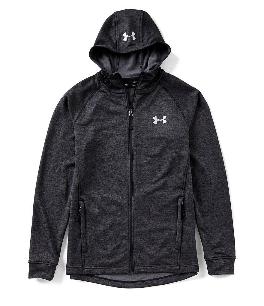 Mens UA Tech Terry Fitted Full Zip Hoodie