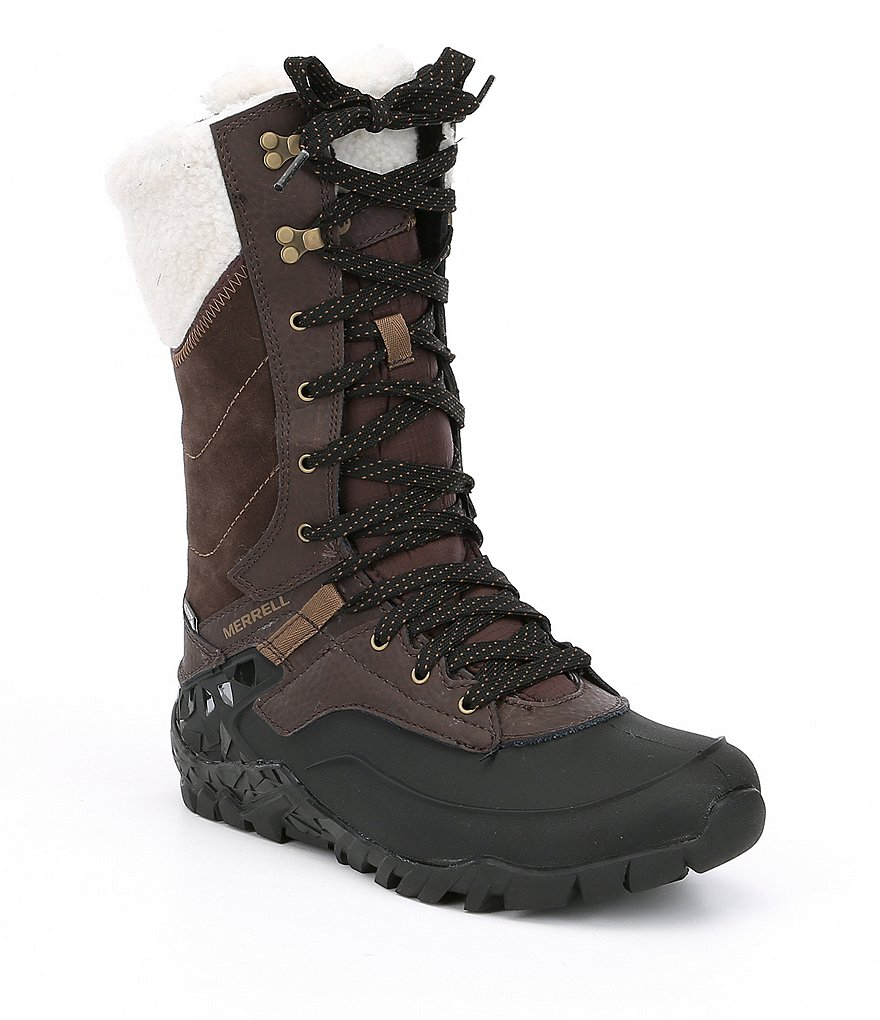 Merrell Aurora Tall Ice Waterproof Cold Weather Boots