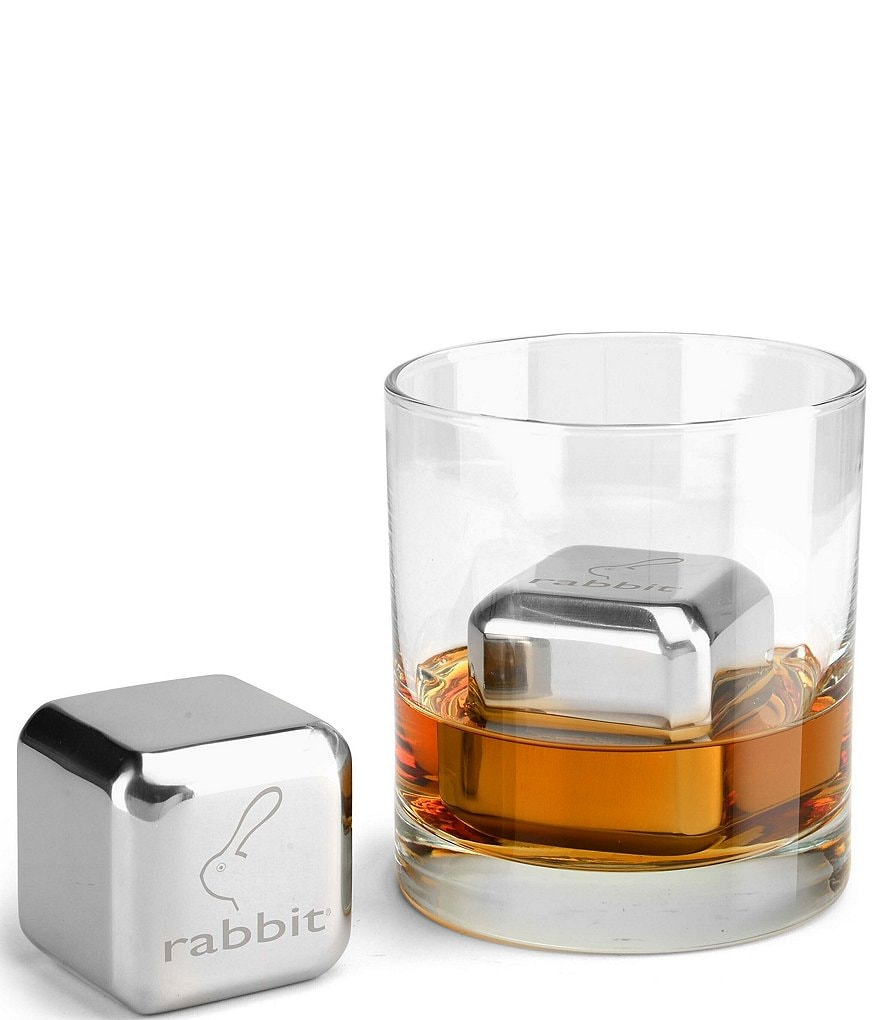 Metrokane Rabbit Jumbo Stainless Steel Chilling Stones