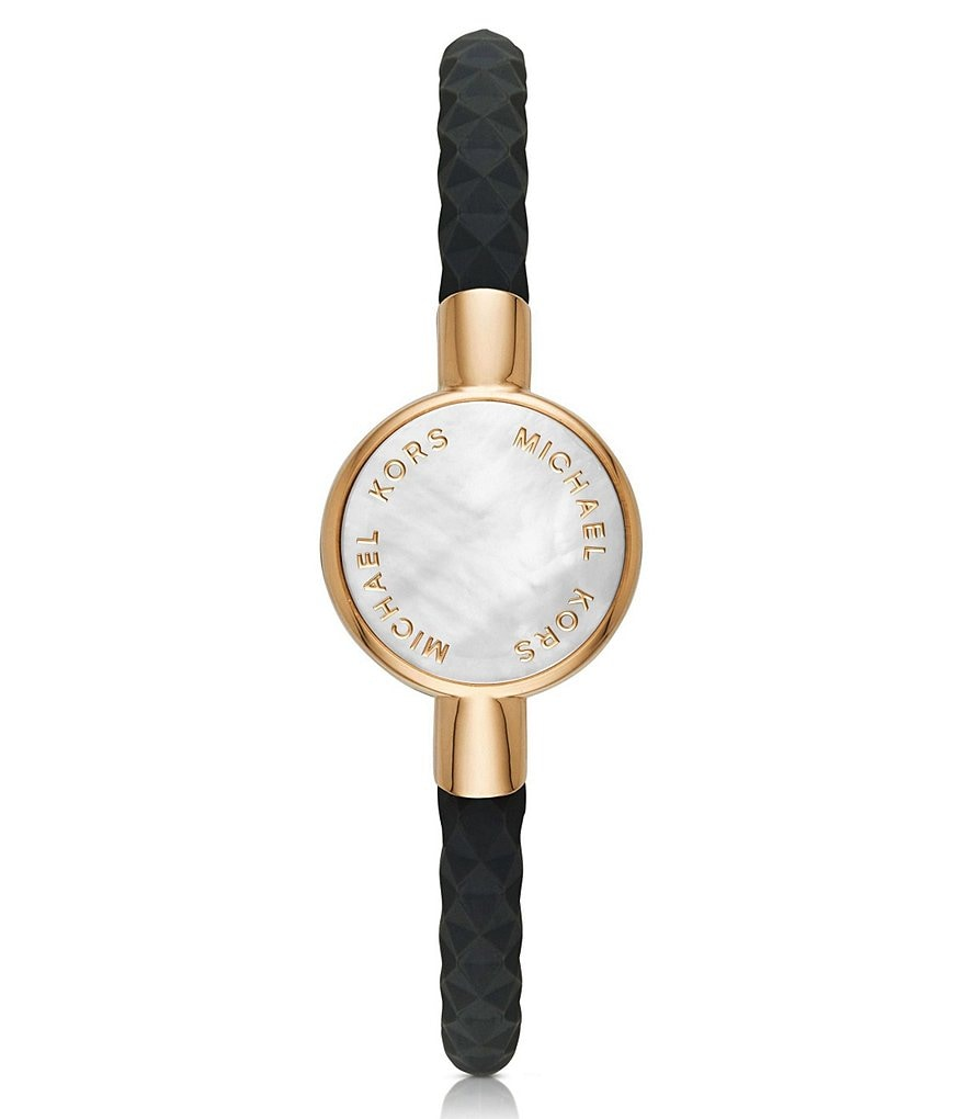 Michael Kors Access Mother-of-Pearl Gold-Tone Activity Tracker