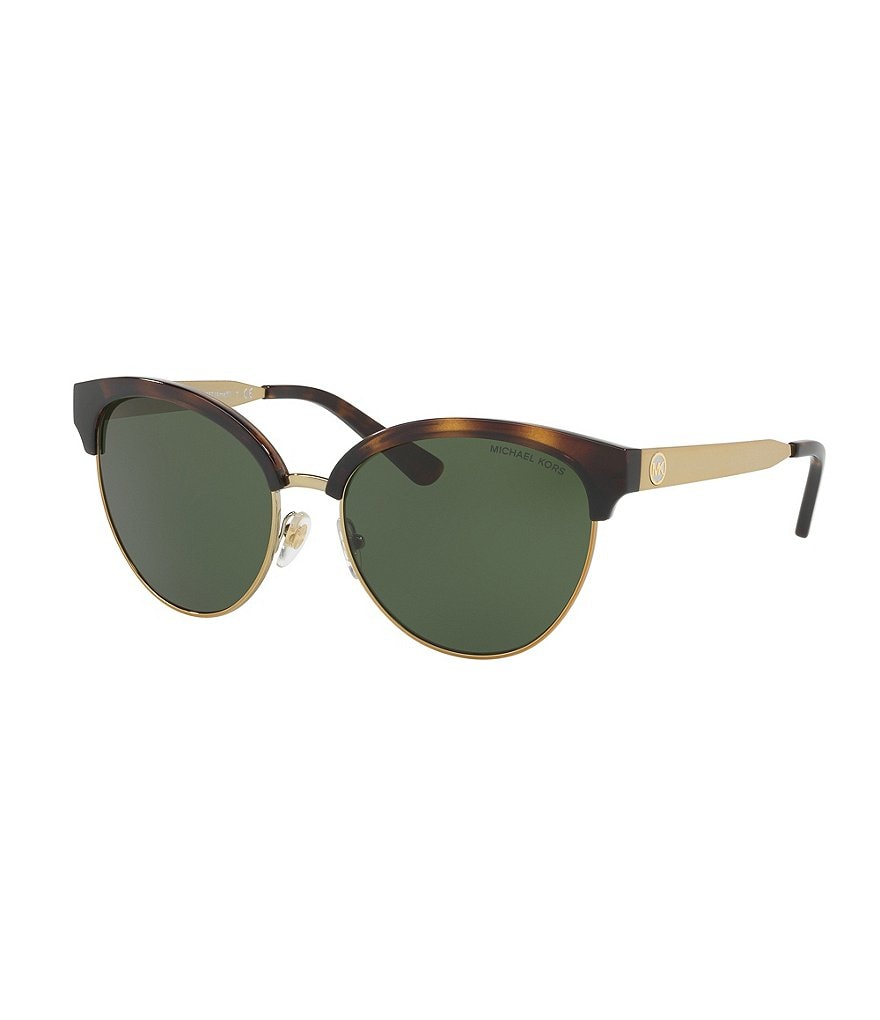 Michael Kors Almafi Semi-Rimless Cat-Eye Sunglasses