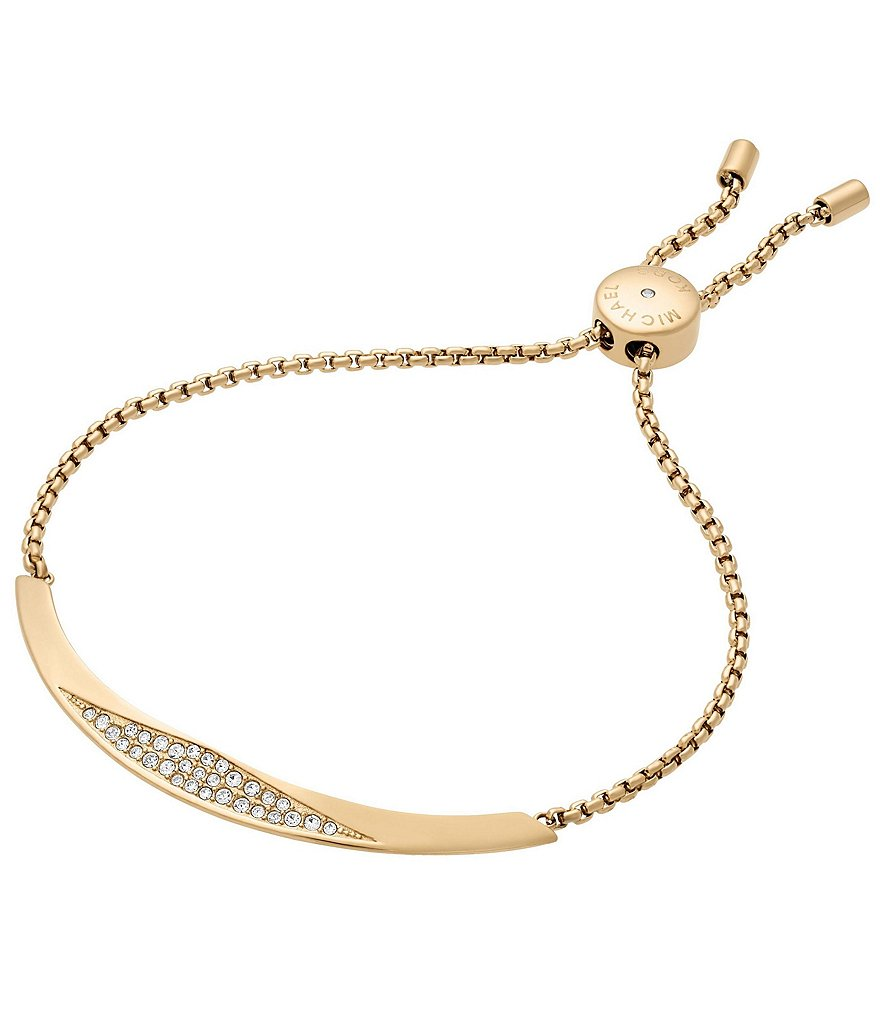 Michael Kors Beyond Brilliant Pavé Crystals Slider Bracelet